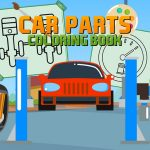 Car Parts Coloring Book