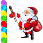 Christmas Eve Coloring Book