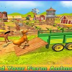 Farm Animal Truck Transporter Game