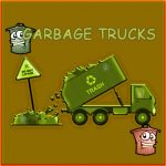 Garbage Trucks Hidden Trash Can