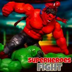 Superheroes Fight