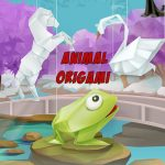 Animal Origami Coloring