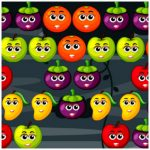 Bubble Shooter Fruits