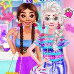 Princesses Neon Dresses