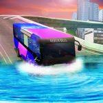 Water Surfing Bus Driving Simulator 2019
